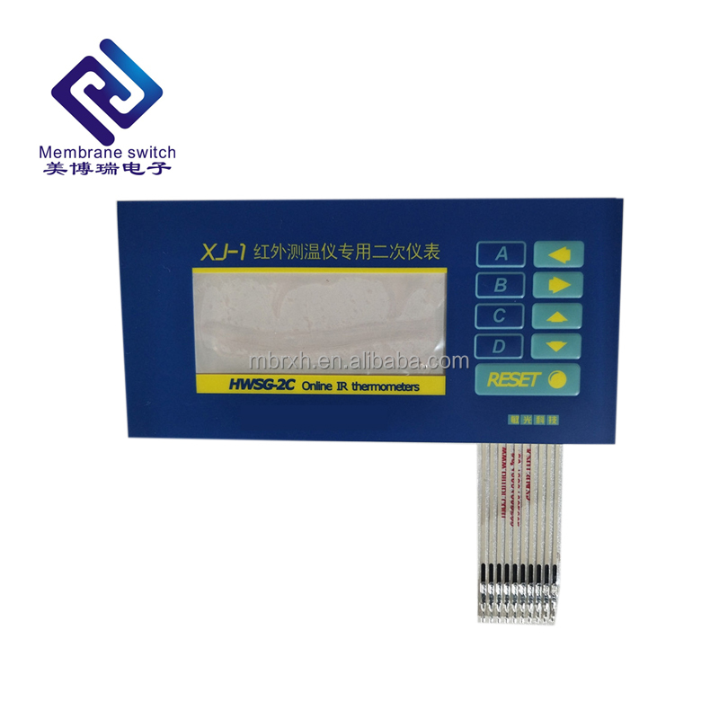 High quality membrane switch, used for infrared tester equipment