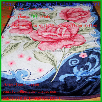 Perfect Used Woollen Blanket Second Hand Bed Sheets Wholesale Used Clothing In Bales