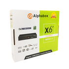 2019 NEW design Alpha 상자 X6 + 디지털 DVB T2MI S2X C Combo 풀 hd 위성 수신기 set top box AC3 decoder iptv와