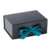 Luxury Wedding Black Paper Bracelet Packaging Card Gift Box With Ribbon