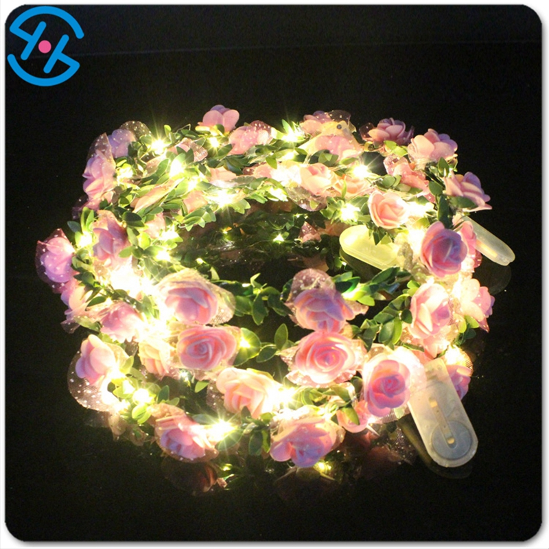 2020 hot sale factory produce  promotional events concert wedding Flashing Garland