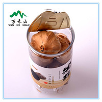 250g zip-top can packed Chinese odorless black garlic