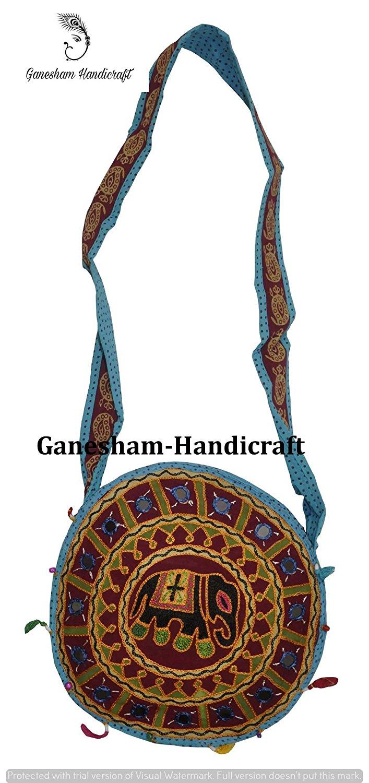 bddbc712f91 Get Quotations · Indian Hippie Elephant Boho Hobo Sling Bag Cotton Handmade Bags  Messenger Bags Indian Vintage Ethnic Designer