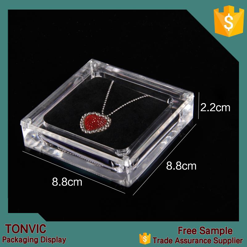 Acrylic Necklace Jewellery Display Packaging Box Custom Design ...