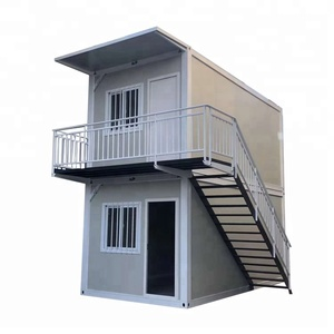 High-quality double layer prefeb container houses