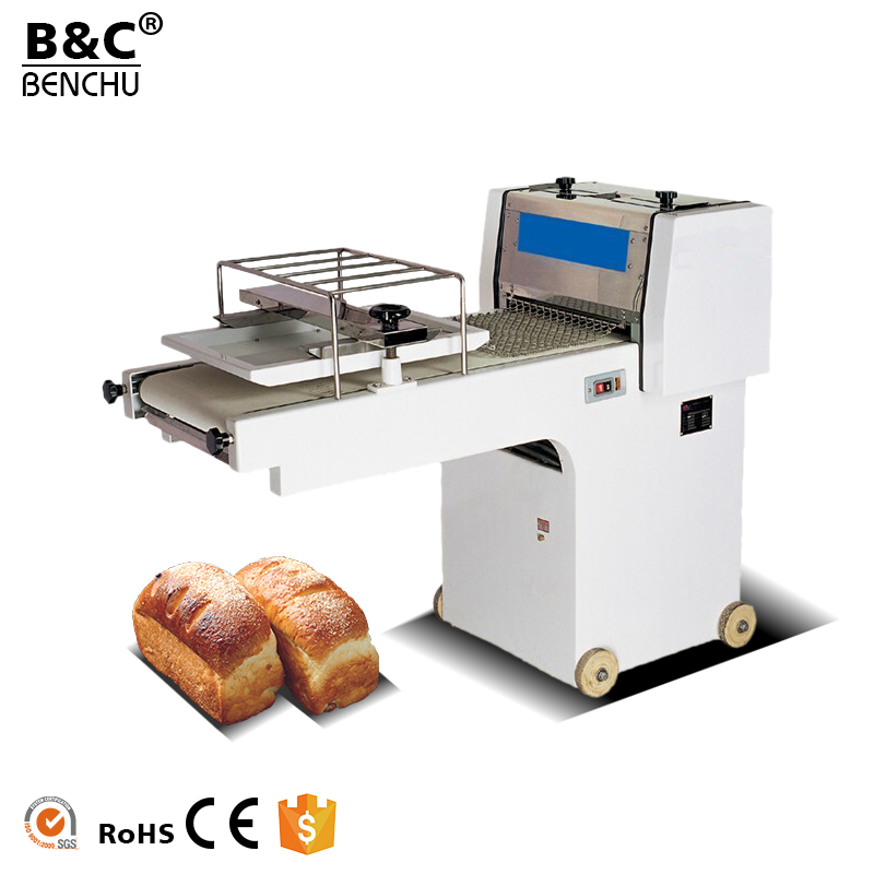 Popular Electric Highspeed Toast Dough Moulder 380mm Automatic Bakery Bread Moulder for Bakery