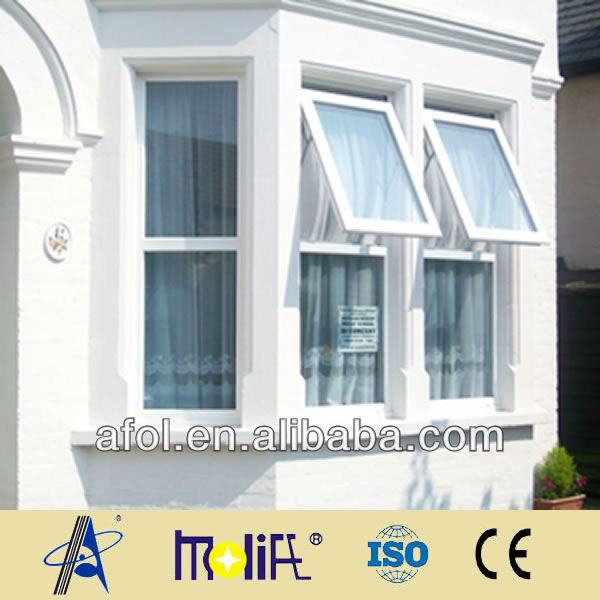 top hung ventilation glass window