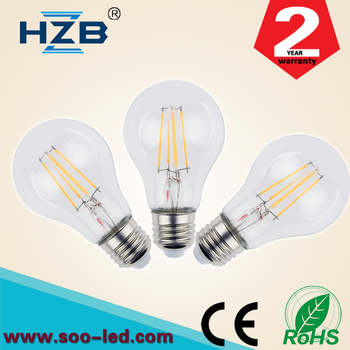 Led Filament E27 Day Night Light Sensor Bulb Dimmable 4w