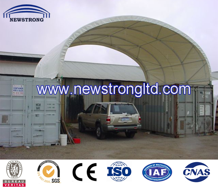 New Style Container Garage Car Parking Roof