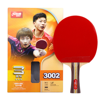 Wholesale Professional Table Tennis Racket Dhs 3002 Ping Pong Paddle