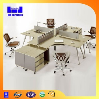 office furniture computer workstation cubicle made in china buy rh alibaba com Dual Workstation Computer Furniture Cherry Student Computer Workstation Furniture