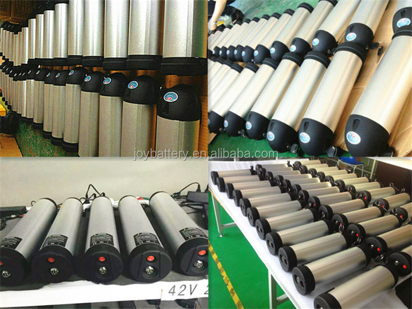 36V10Ah bottle tube li ion battery pack for electric bicycle and e-scooter