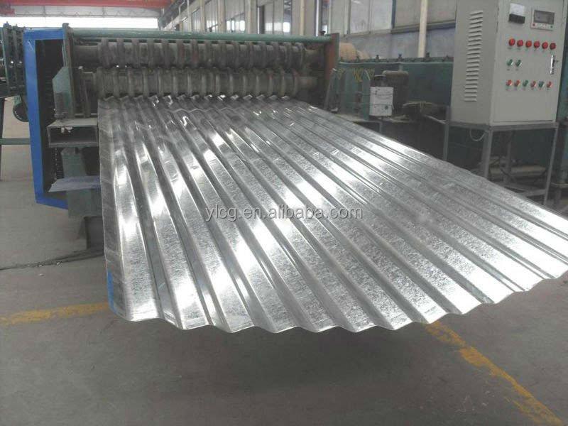22 Gauge Gi Corrugated Steel Roofing Sheet