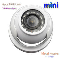 Cheap MINI CCTV Camera system indoor metal dome camera