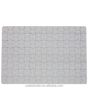Customizable puzzle jigsaw A4 size puzzle sublimation puzzle