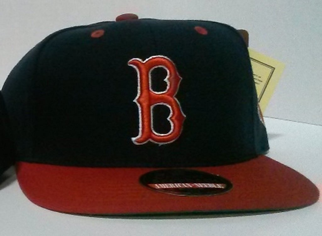 Get Quotations · Ameerican Needle Boston Redsox Blockhead Snapback Hat c94740dcee84