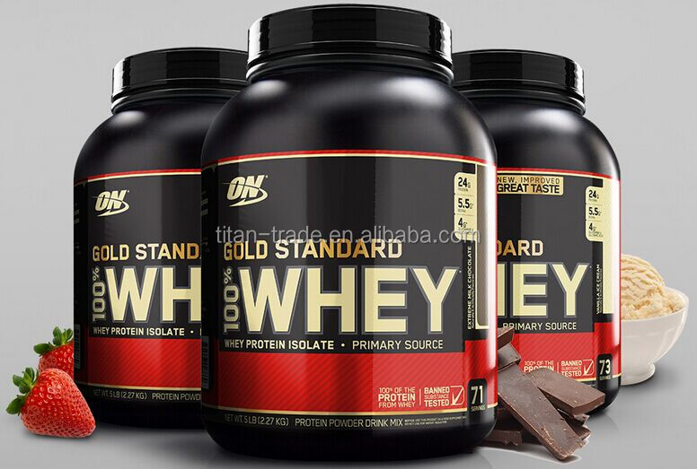 Optimum Nutrition Gold Standard 100% Whey Protein vanilla/chocolate/strawberry for All Flavors