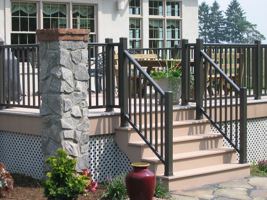 Exterior Handrail Bracket For Aluminum Handrails Buy Exterior