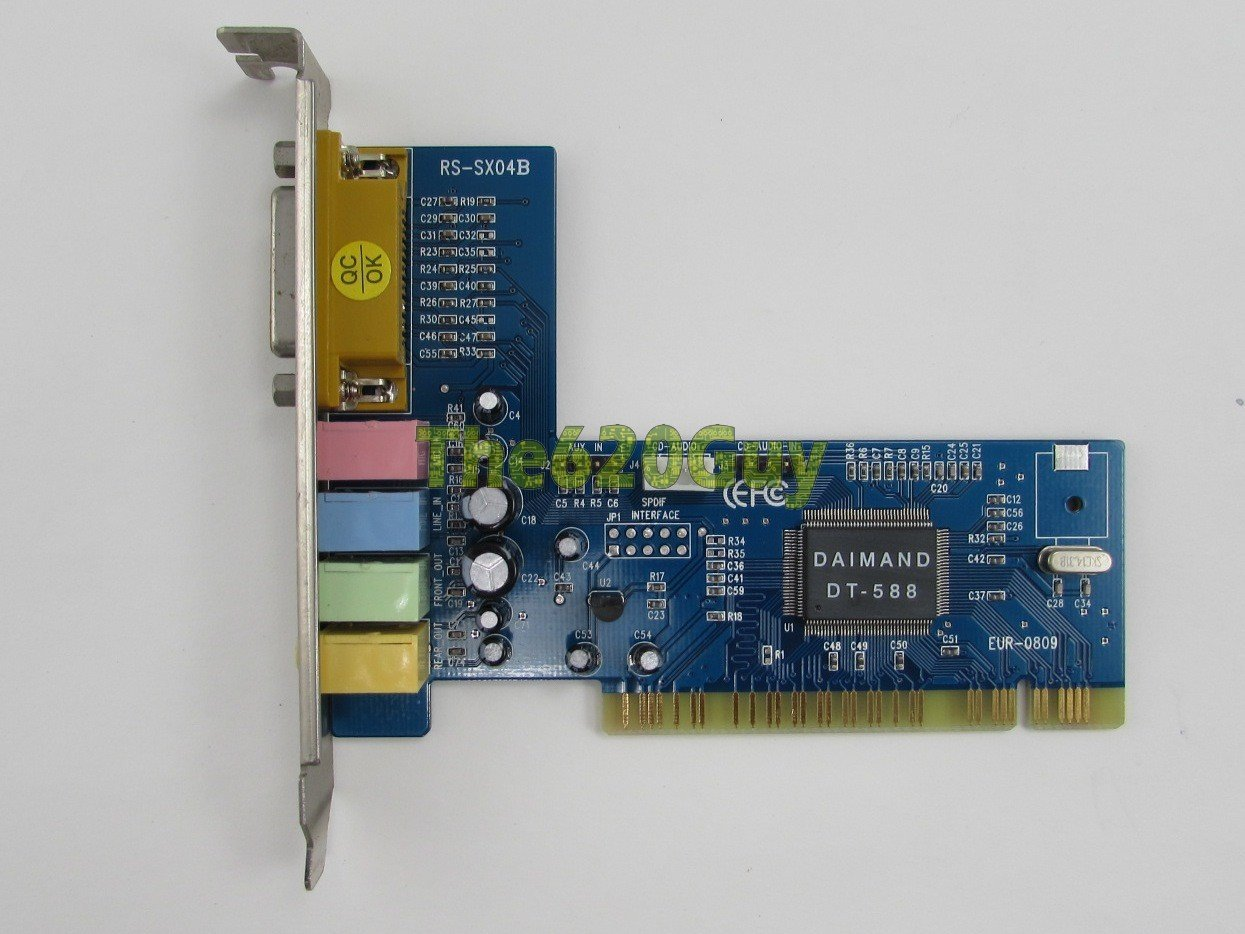 DIAMOND MULTIMEDIA RS-SX04B SOUND CARD DRIVERS FOR WINDOWS DOWNLOAD
