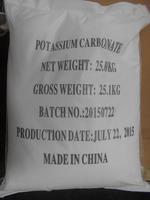 Good chemicals raw materials 98% 99% Potassium Carbonate (K2CO3) 584-08-7