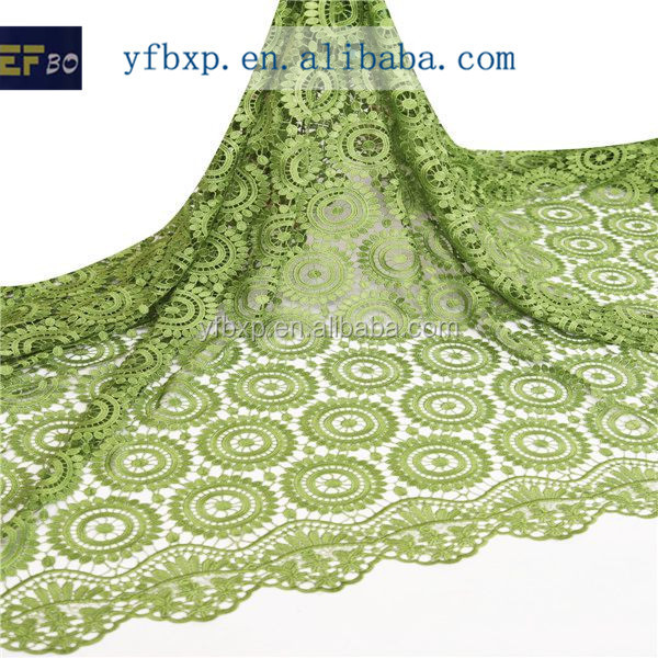 Multicolor New Design Embroidery High Quality African Guipure Lace ...