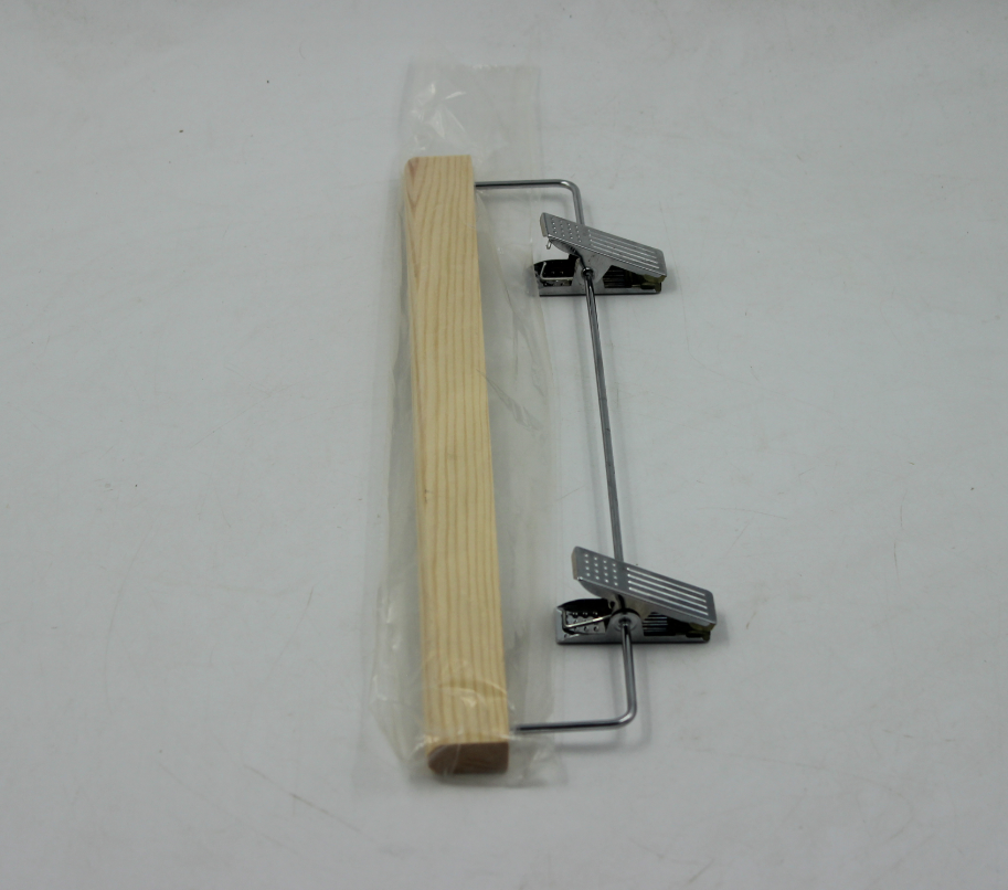 High Quality Wooden Pant Trouser Skirt Hanger