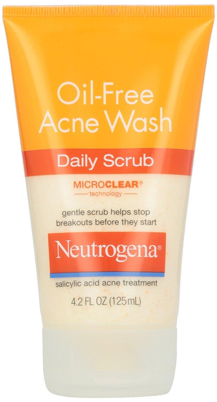 Neutrogena, Oil-Free Acne Wash Daily Scrub, 4.2 oz