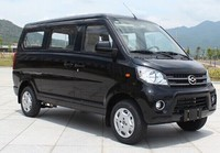 Highly Cost-effective 8 seats Mini Passenger Van With Petrol 91hp Engine