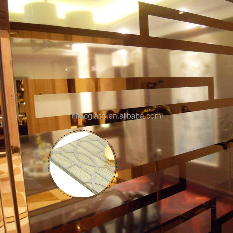 5Mm Home Decor Decorative Glass Plate Wall Art Widely Used For Decoration Of Partitions