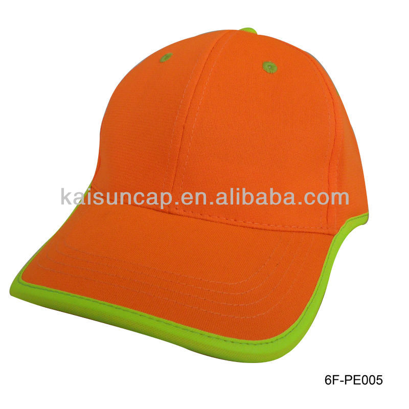 custom wholesale binding peak 5 panel camp hat