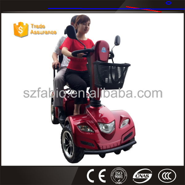 XB-C FABIO 24V 800w 75AH older and disabled people smart one person 4 wheels electric mobility scooter