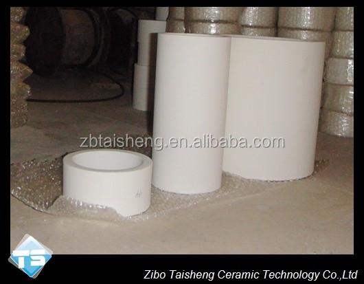 Customer Size 92 Alumina Ceramic Tube For Poder Industry China ...