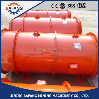 tunnels axial flow mine ventilation fans