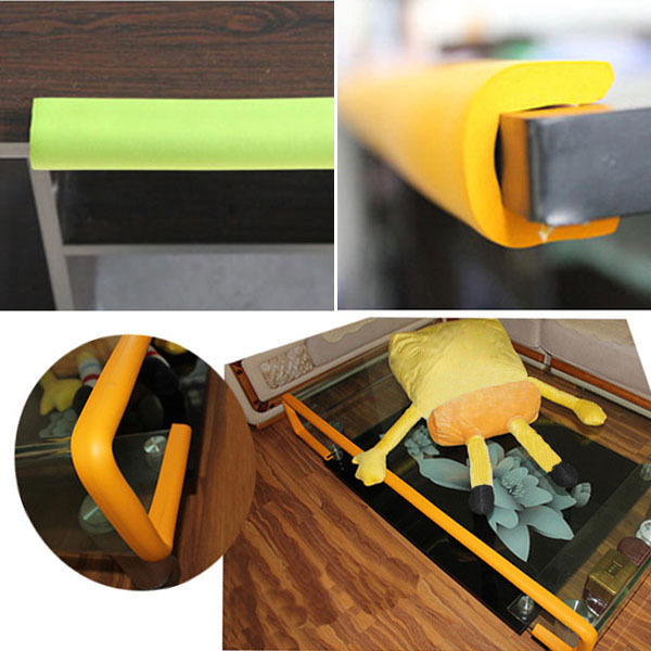 Wholesale Safety Cushion Protector Kids Corner Protection Desk Table Edge Nbr Bumper Child