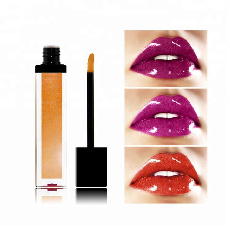 Face Makeup OEM Private Label Make Up  Lip Gloss Waterproof Glitter Lip Gloss