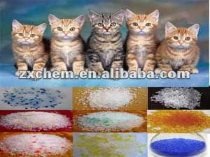 Best price!!!!! ------silica gel kitty sand-- all kinds of package as per need