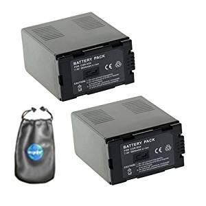 5400mAh Replacement for Panasonic AG-HVX200P AJ-PCS060G Portable Hard Disk, NV-DS29, NV-DS29EG, NV-DS30 Battery, P//N CGA-D54, CGA-D54S, CGA-D54SE