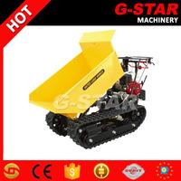 BY400 tracked wheel barrow 400kg self loading power barrow