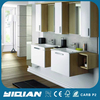 Italy Modern Design Mirrored Couple Lovely Home Bathroom Cabinet