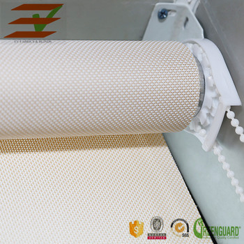 Solar Screen Roller Shades/Rolling Up Blinds Mechanism Sunscreen Fabric