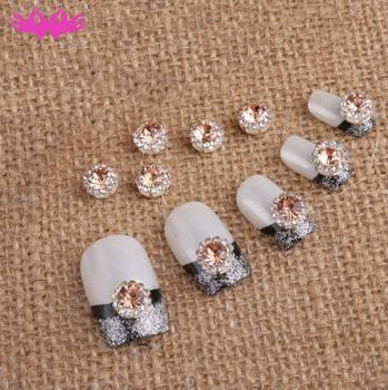 2019 Nail Art Design Shiny Rhinestone Alloy Beauty Decorations Nails ...