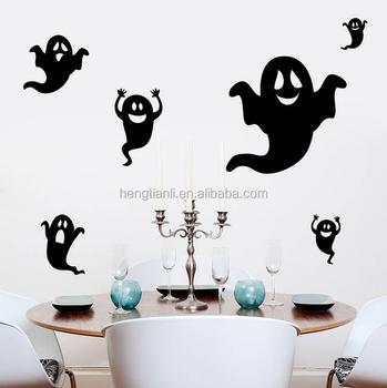 Nero Fantasma Halloween Adesivi Murali Soggiorno Camera Da Letto ...