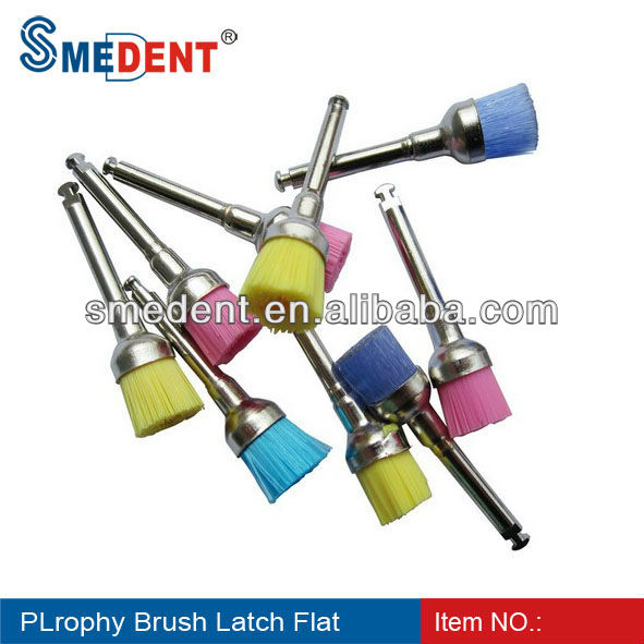 Dental latch type Prophy Brush