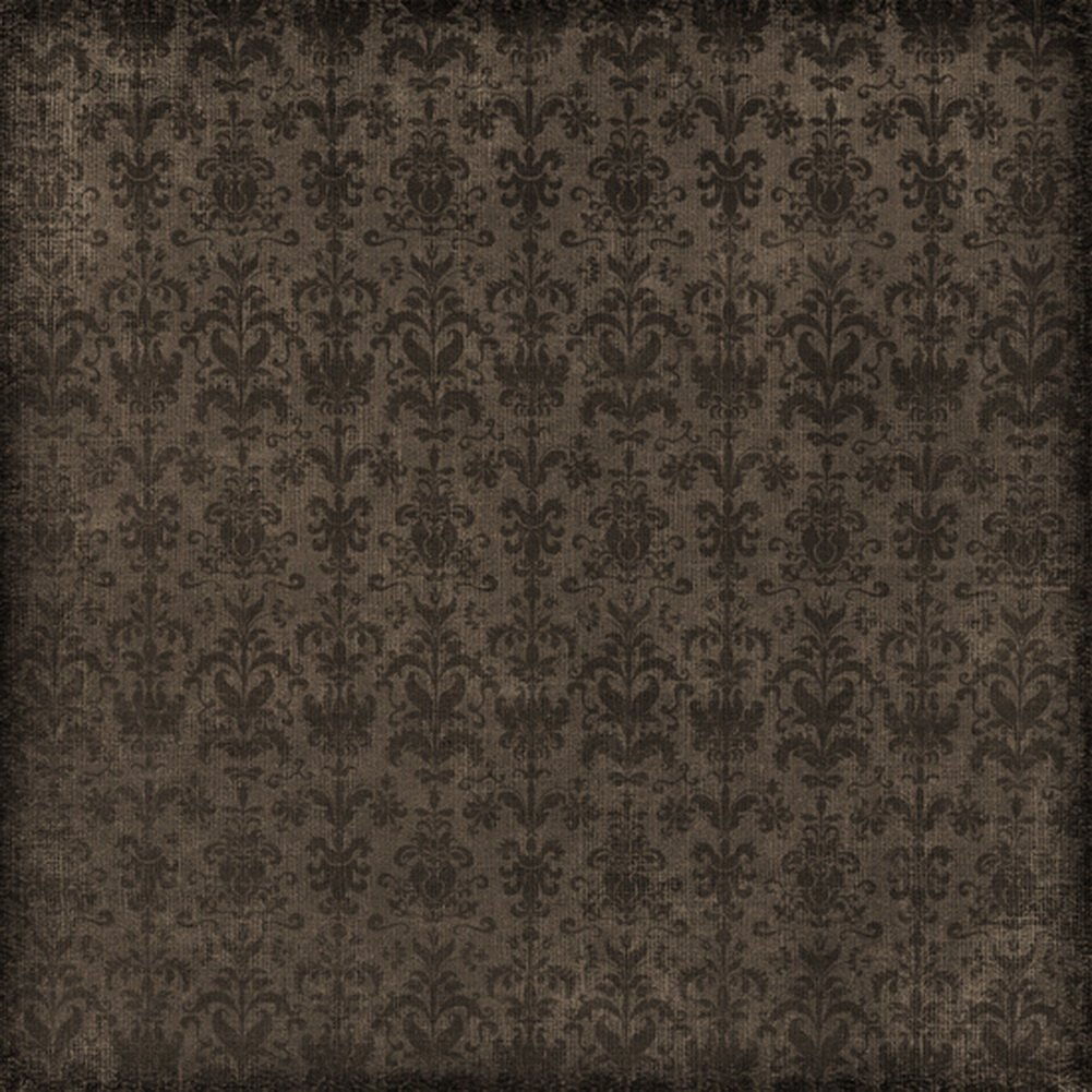 Yelewen 5x7ft Dark Damask Patterned Portraits Children Photography Backdrops Thin Vinyl Indoor Studio Customized Digital Printed Backgrounds Photo Props