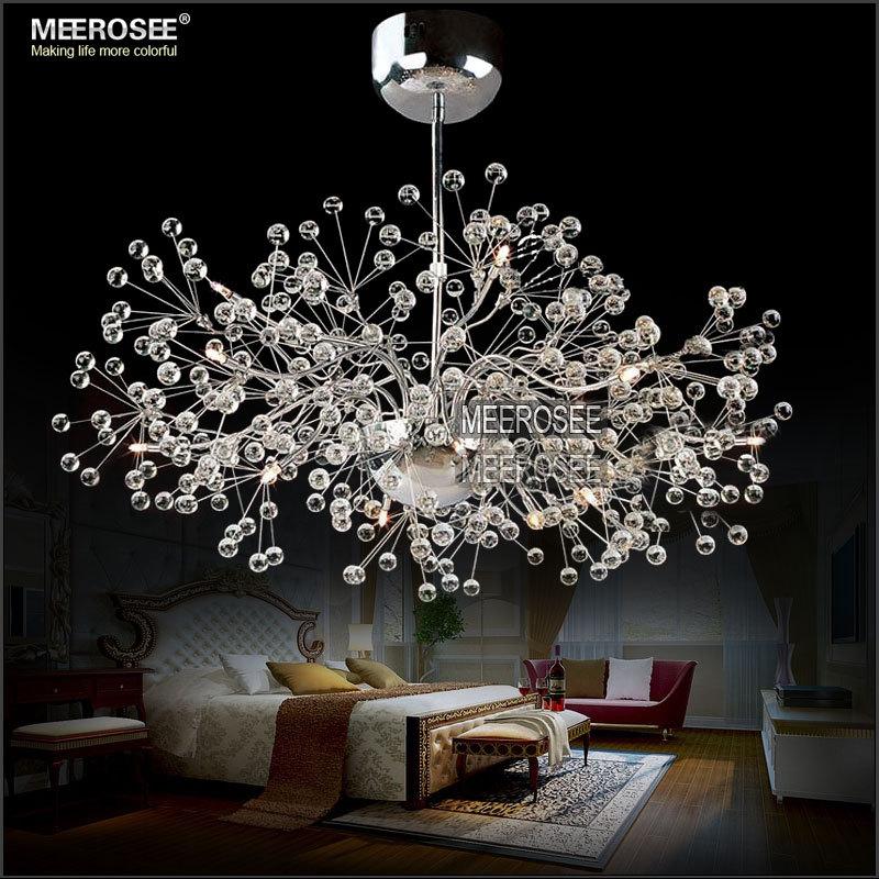 Livingroom Flower Shape Balls Chandelier Lamp Ceiling Mounted ...