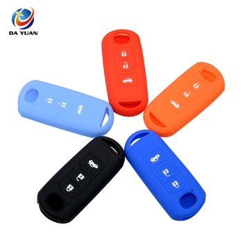 AS076004 Silicone Car Key Cover for Mazda