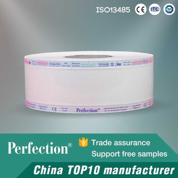 biological indicators for sterilization roll self sealing roll