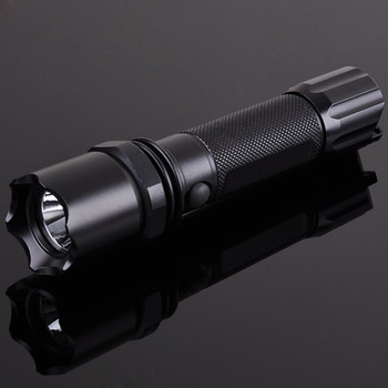 J6 Hot Sale 3 Modes High Power Style Aluminium Alloy Police Cree Q5 T6 Rechargeable Portable Work Light Led Flashlight