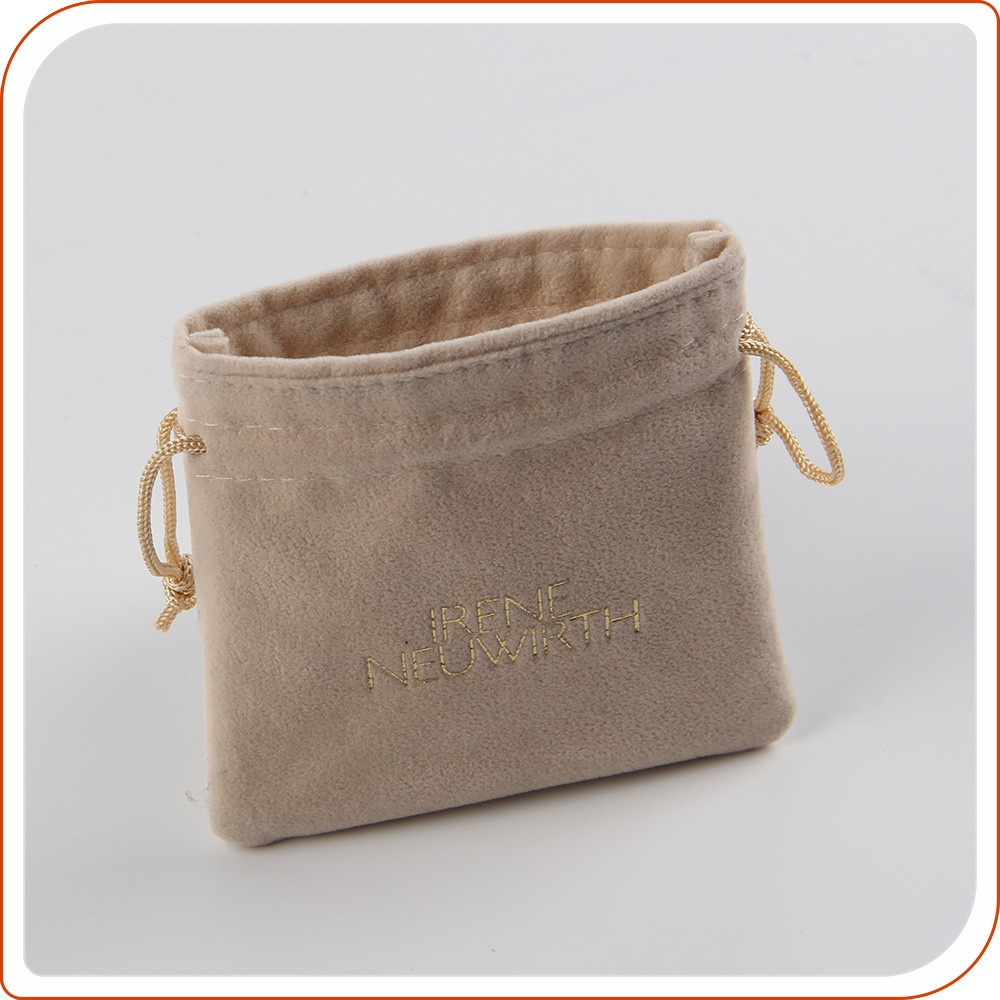 Promotional Item Suede Jewelry Pouch Jewellery Pouches
