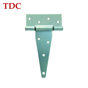 "Zinc Plated bending T garage door steel hinge 6""*2.5mm"